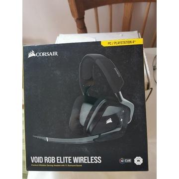 Słuchawki CORSAIR Void RGB Wireless Czarne