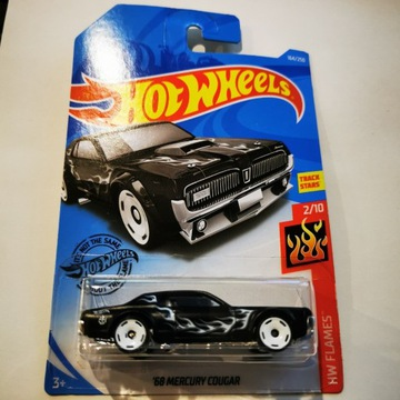 Hot Wheels 68 Mercury Cougar