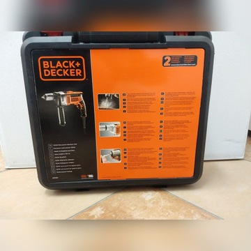 Wiertarka udarowa Black+Decker 750W model KR705K