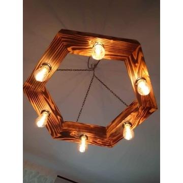 Lampa belka loft