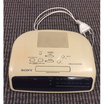 SONY radio budzik Dream Machine