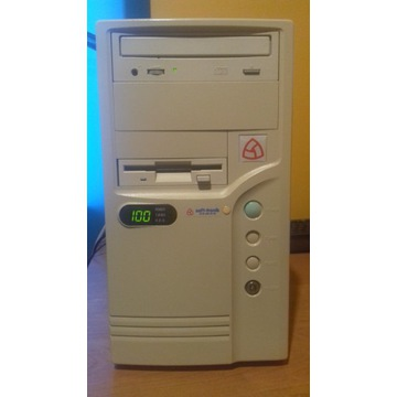 SOFT-TRONIC  AM486-DX-100 MHZ  KOMPUTER RETRO