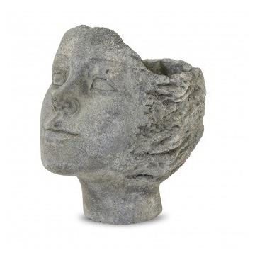 Wyjątkowa osłonka kobieca głowa - ciemny szary