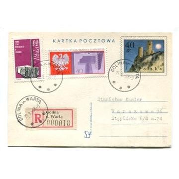 Golina n.Wartą (Konin)- Przesyłki polecone 1968-72