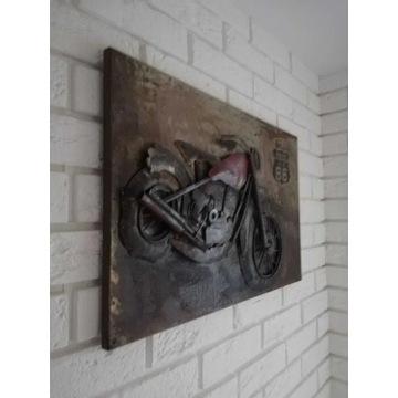 Obraz z metalu Harley-Davidson, Indian