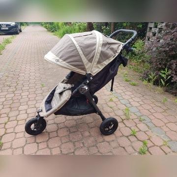 Wózek, Baby Jogger City Mini GT,śpiworek,tacka
