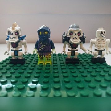 Lego szkielet Nuckal duch
