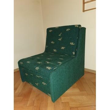 Fotel rozkładany z pojemnikiem na pościel