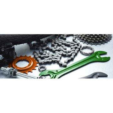 Kompleksowy serwis rowerowy, naprawa, montaż