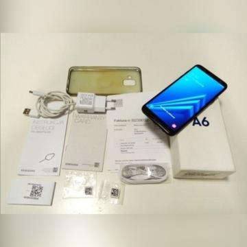 Samsung A6 z salonu Orange jak nowy