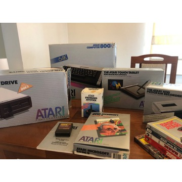 Atari 800XL zestaw