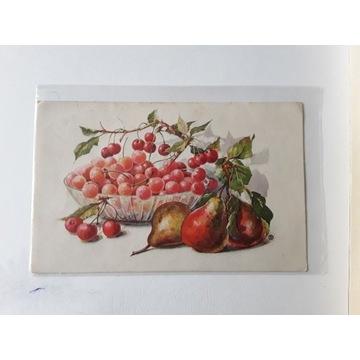 Kartka owoce 1931r.Czechosłowacja