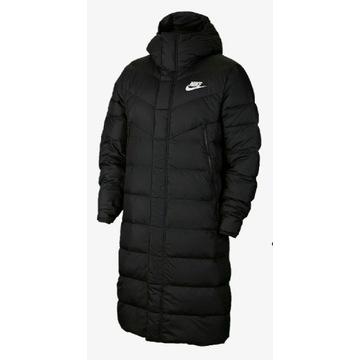 Puchowy nowy męski płaszcz NIKE rozm. XL