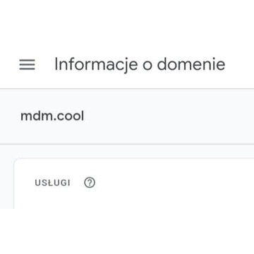 domena mdm.cool