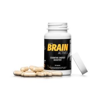 Tabletki na lepszą pracę mózgu Brain Actives HIT!