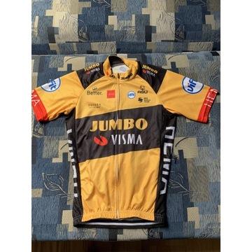 Strój rowerowy Jumbo Visma Koszulka S Spodenki M