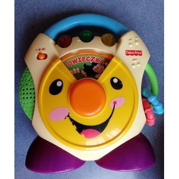 FisherPrice zabawka interaktywna muzyczna