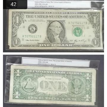 Banknot DOLAR USA 2006(42)