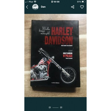 Książka Harley Davidson