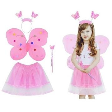 Nowe. Uroczy kostium motylek strój dla dziewczynek