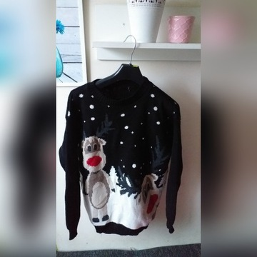 Sweter świąteczny Renifer S/M Renifery