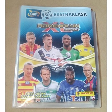Segregator Karty Ekstraklasa 2016/17 Panini 93szt