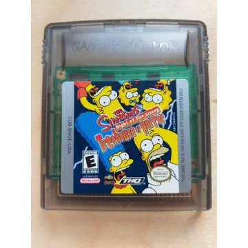 Gameboy The Simpsons: Night of the Living