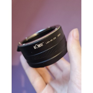Adapter bagnetowy Nikon F / Sony E - Kiwifotos