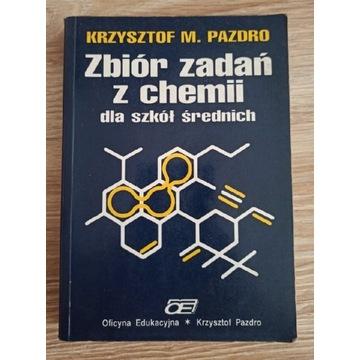 Zbiór zadań z chemii dla szkół średnich Pazdro