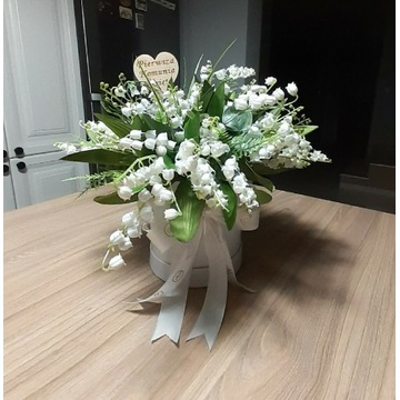 Flower box Piersza Komunia św