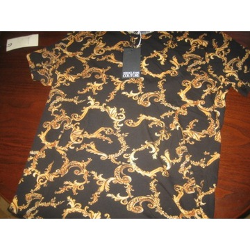 Versace Nowy T shirt Barocco Acantus