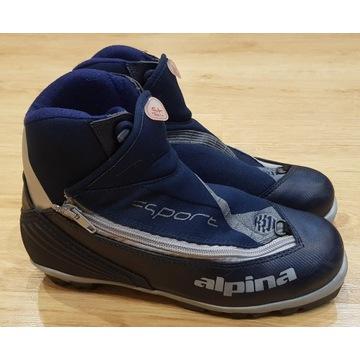 buty narciarskie biegowe ALPINA st11  roz. 39 bdb