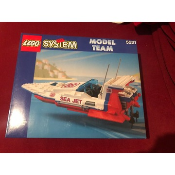 LEGO MODEL TEAM 5521 SEA JET, RARYTAS! NOWY