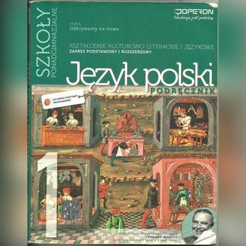 język polski 1 odkrywamy na nowo PODRĘCZNIK OPERON