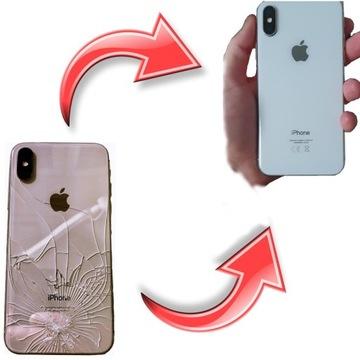 WYMIANA tylna szybka iPhone 11 SE Xs Xs Max Xr X 8
