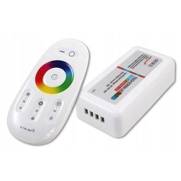 STEROWNIK kontroler TAŚM LED RGB RF RADIOWY PILOT