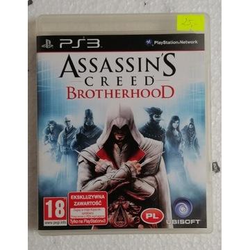 Assasin's Creed Brotherhood PL Gra na Ps3