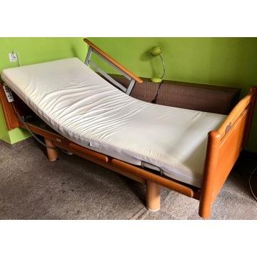Łóżko rehabilitacyjne wielofunkcyjne na pilota