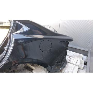 Mazda 6 GJ cwiartka lewa tyl poszycie sedan szyba