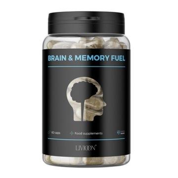 Wegański suplement na pamięć Brain & Memory Fuel