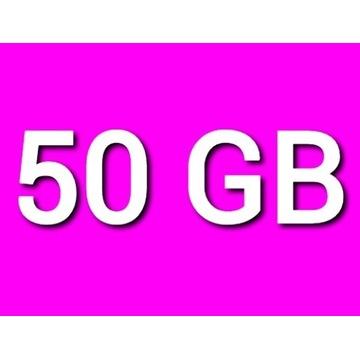 TRANSFER CHOMIKUJ 50GB 30 DNI