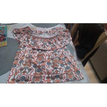 Bluzeczka i krótkie spodenki damskie