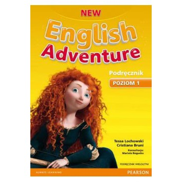 NEW ENGLISH ADVENTURE 1 PEARSON KSIĄŻKA UCZNIA