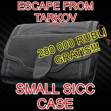 Escape From Tarkov Small SICC Case 12.9 + RUBLE
