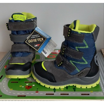 Oryginalne nowe śniegowce Primigi  - Gore-Tex