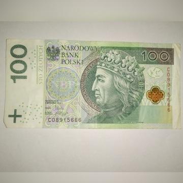 100 zł | 666 w numerze seryjnym