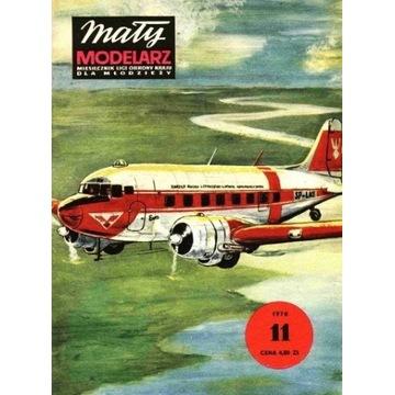Mały Modelarz 1978 78 Samolot transportowy LI-2