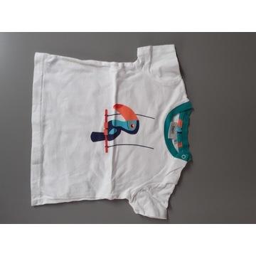 Bonprix t-shirt koszulka chłopięca 68/74