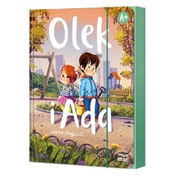 OLEK I ADA  4 - latek , Poziom A +  _ Pakiet BOX