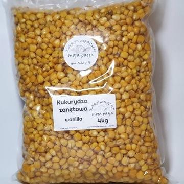 Kukurydza zanętowa smakowa wanilia opak 4kg